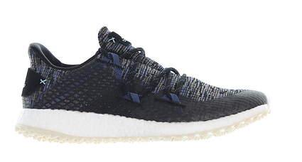 New Womens Golf Shoe Adidas Crossknit DPR Medium 7.5 Black MSRP $130 EF0464