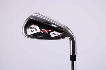 Callaway 2013 X Hot Single Iron 8 Iron True Temper Speed Step 85 Steel Regular Right Handed 35.75in