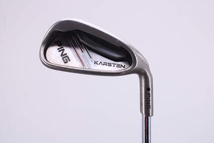 Ping 2014 Karsten Single Iron 8 Iron Ping CFS Distance Steel Stiff Right Handed Black Dot 36.75in