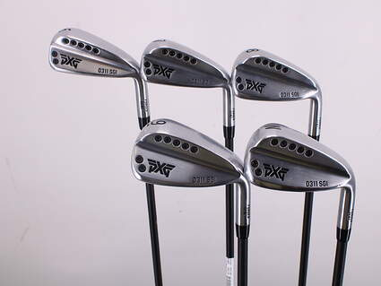 PXG 0311 SGI GEN2 Chrome Iron Set 6-PW Mitsubishi MMT 60 Graphite Senior Right Handed 37.5in