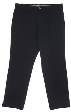New Mens Under Armour Match Play Pants 40 x34 Black MSRP $85 UM8081
