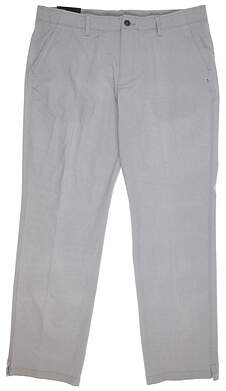 New Mens Under Armour Match Play Pants 40 x32 Gray MSRP $85 UM8083