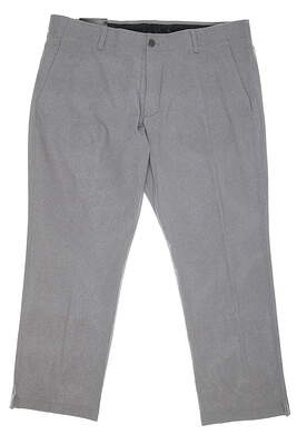 New Mens Under Armour Match Play Pants 40 x30 Gray MSRP $85 UM8813