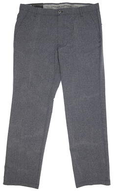 New Mens Under Armour Match Play Pants 40 x34 Gray MSRP $85 UM8083