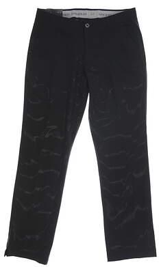 New Mens Under Armour Match Play Golf Pants 40 x30 Black MSRP $85 UM8083