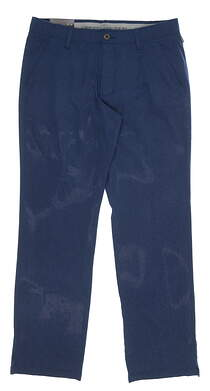 New Mens Under Armour Match Play Golf Pants 40 x32 Blue MSRP $85 UM8083