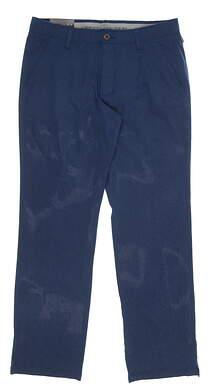 New Mens Under Armour Match Play Pants 34 Blue MSRP $85 UM8083