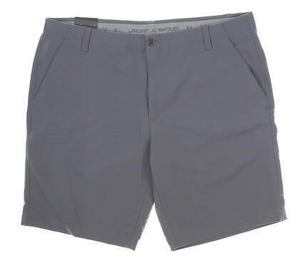 New Mens Under Armour Golf Shorts 42 Gray MSRP $72