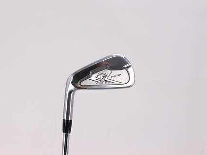 Callaway X Forged Single Iron 5 Iron Project X Flighted 6.0 Steel Stiff Left Handed 38.0in