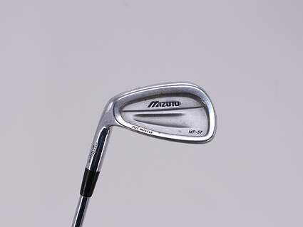 Mizuno MP 57 Single Iron Pitching Wedge PW Dynamic Gold SL S300 Steel Stiff Left Handed 35.75in