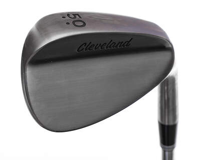 Mint Tour Issue Cleveland 588 RTX Custom Raw Wedge Gap GW 50° 2 Dot Mid Bounce True Temper Dynamic Gold Steel Wedge Flex Right Handed 35.5in