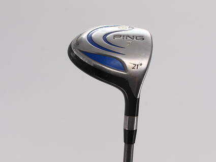 Ping G5 Fairway Wood 7 Wood 7W 21° Ping TFC 100F Graphite Stiff Right Handed 41.75in
