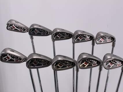Ping G15 Iron Set 3-SW Ping AWT Steel Stiff Right Handed White Dot 37.75in