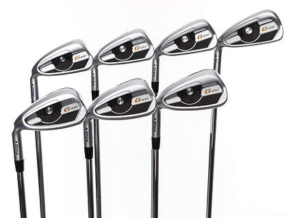 Mint Ping G400 Iron Set 4-PW AWT 2.0 Steel Stiff Left Handed Black Dot 38.25in