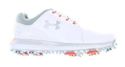 New Womens Golf Shoe Under Armour UA HOVR Drive Clarino 7 White MSRP $140 3022765-100