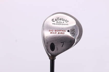 Callaway Big Bertha Warbird Fairway Wood 7 Wood 7W Callaway RCH 96 Graphite Stiff Left Handed 41.75in