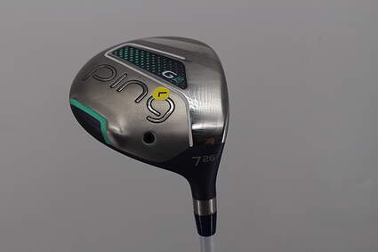 Ping G LE Fairway Wood 7 Wood 7W 26° ULT 230 Ultra Lite Graphite Ladies Left Handed 41.0in