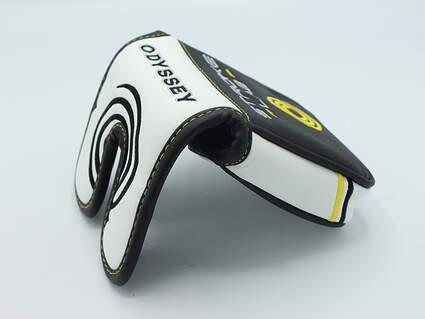 """Odyssey Stroke Lab """"Face First"""" Center Shafted Putter Headcover"""