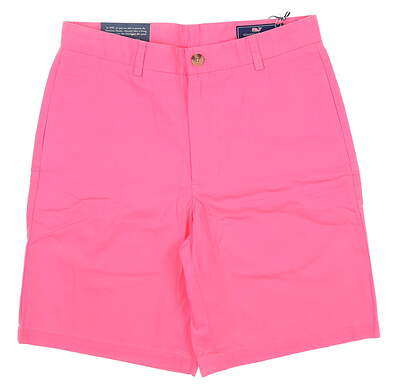 New W/Logo Mens Vineyard Vines Classic Fit Club Shorts 32 Island Sunset MSRP $75 1H0213-945