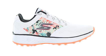 New Womens Golf Shoe Skechers Go Golf Birdie Tropic 8 White MSRP $80 14854/WMLT
