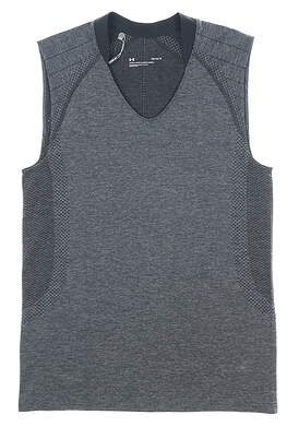 New Womens Under Armour Sleeveless Top Large L Gray MSRP $50 UW0461