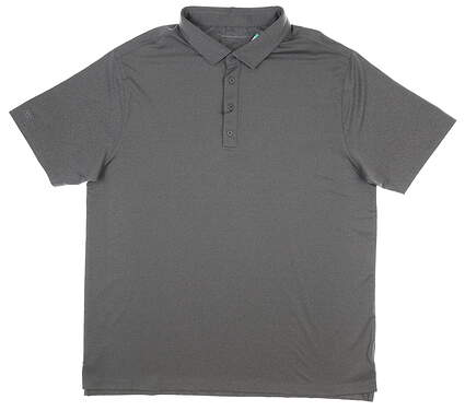 New Mens MATTE GREY Captain Heather Polo X-Large XL Gray MSRP $70 110102