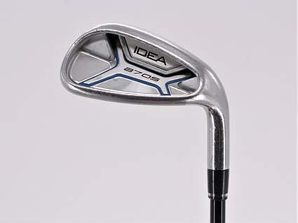 Adams Idea A7 OS Single Iron Pitching Wedge PW Stock Graphite Shaft Graphite Senior Right Handed 35.75in