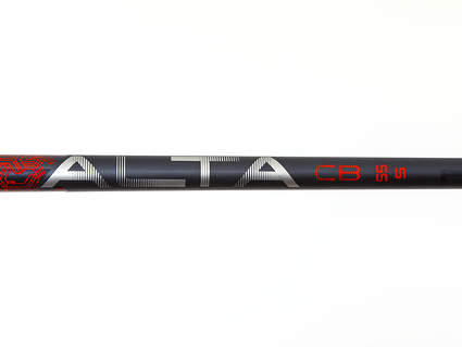 Used W/ Adapter Ping Alta CB 55 Red Driver Shaft Stiff 44.5in Left Handed Ping Adapter
