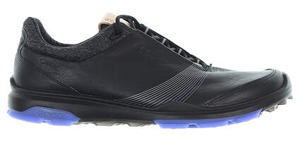 New Womens Golf Shoe Ecco BIOM Hybrid 3 38 (7-7.5) Black MSRP $200 12550301001