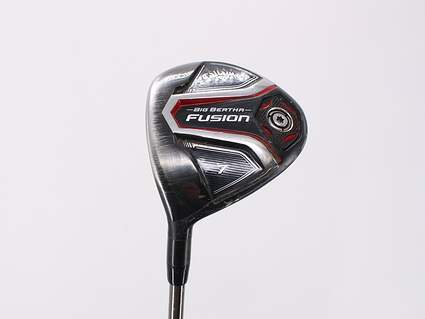 Callaway 2016 Big Bertha Fusion Fairway Wood 7 Wood 7W UST Mamiya Recoil ES 450 Graphite Regular Left Handed 42.0in
