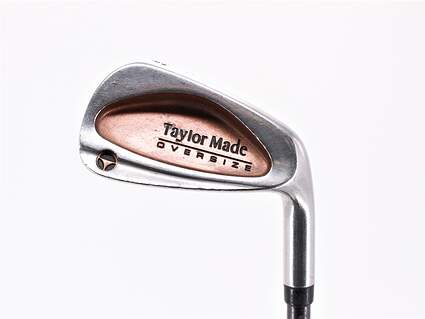 TaylorMade Burner Oversize Single Iron 8 Iron TM Bubble Graphite Stiff Right Handed 36.75in