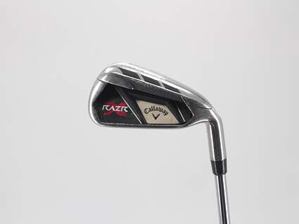 Callaway Razr X Single Iron 4 Iron Callaway Razr X Iron Graphite Steel Uniflex Right Handed 38.25in