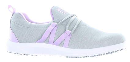 New Womens Golf Shoe Footjoy FJ Leisure Slip-On Medium 10 Gray MSRP $100 92921