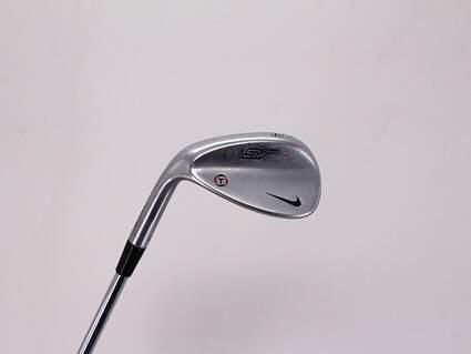 Nike SV Tour Chrome Wedge Sand SW 56° 14 Deg Bounce True Temper Dynamic Gold SV S400 Steel Stiff Left Handed 35.5in