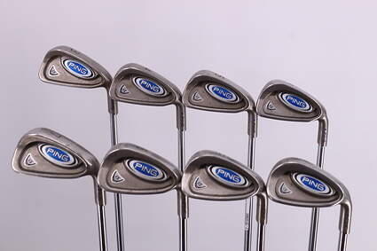 Ping i5 Iron Set 3-PW True Temper Steel Regular Right Handed Blue Dot 37.75in