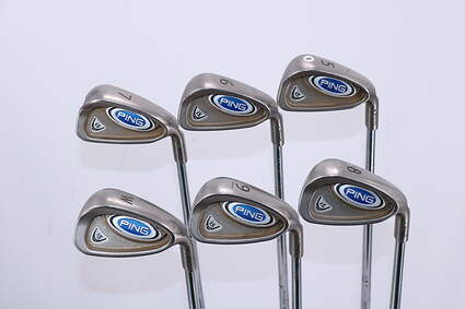 Ping i5 Iron Set 5-PW Ping AWT with Cushin Insert Steel Regular Right Handed Green Dot 38.25in