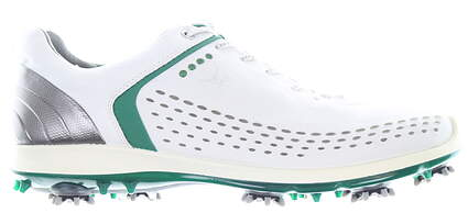 New Mens Golf Shoe Ecco BIOM G2 43 White/Green MSRP $260 13061457875