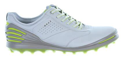 New Mens Golf Shoe Ecco Cage Pro EU 42 (8-8.5) Gray MSRP $210 13300401379