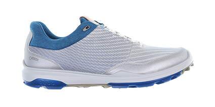 New Mens Golf Shoe Ecco BIOM Hybrid 3 44 Silver MSRP $180 15580451405