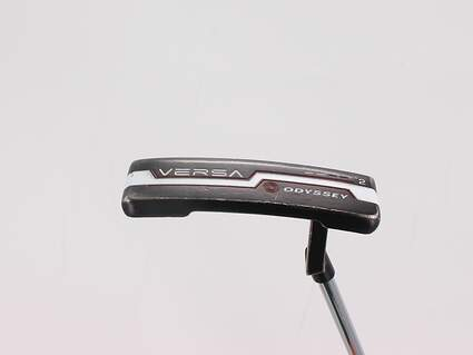 Odyssey Versa #2 Black White Black Putter Steel Right Handed 35.25in