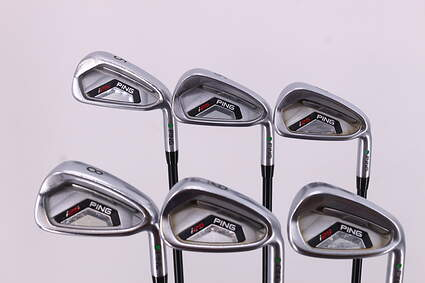 Ping I25 Iron Set 5-PW Ping TFC 189i Graphite Senior Right Handed Green Dot 38.0in