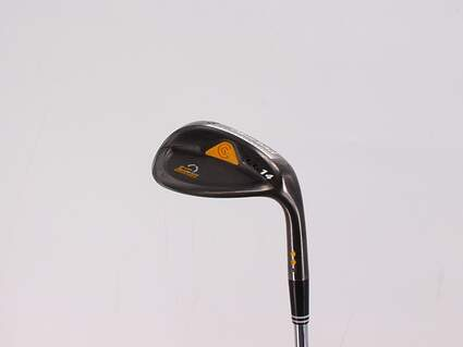 Cleveland CG14 Gunmetal Wedge Gap GW 50° 8 Deg Bounce Cleveland Traction Wedge Steel Wedge Flex Right Handed 36.5in