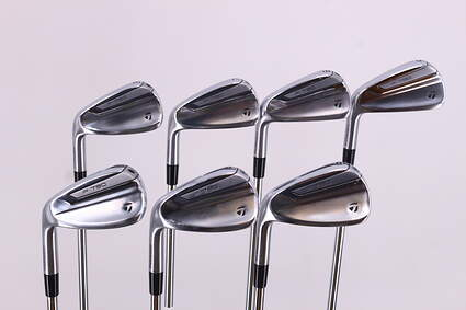 TaylorMade 2019 P790 Iron Set 6-PW GW Nippon NS Pro 950GH Neo Steel Regular Left Handed 37.75in