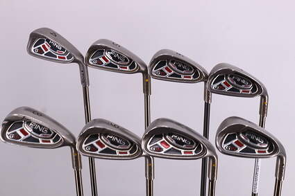 Ping G15 Iron Set 4-PW GW UST Mamiya Recoil 760 ES Graphite Senior Right Handed Yellow Dot 38.0in