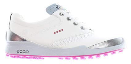 New Womens Golf Shoe Ecco Biom Hybrid Retro EU 37 (6-6.5) White MSRP $100 10054357676