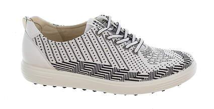 New Womens Golf Shoe Ecco Casual Hybrid Soft EU 36 (5-5.5) White/Black MSRP $140 12208350066