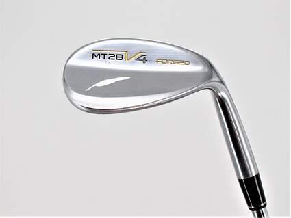 Fourteen MT-28 V4 Nickel Chrome Wedge Gap GW 52° 8 Deg Bounce Project X 6.0 Steel Wedge Flex Right Handed 35.75in