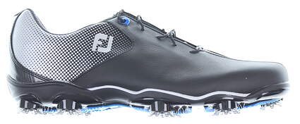 New Mens Golf Shoe Footjoy DNA Helix Wide 9.5 Black MSRP $210 53318