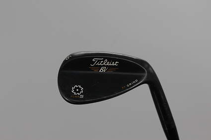 Titleist Vokey SM5 Raw Black Wedge Sand SW 56° 10 Deg Bounce M Grind Titleist SM5 BV Steel Wedge Flex Right Handed 36.0in