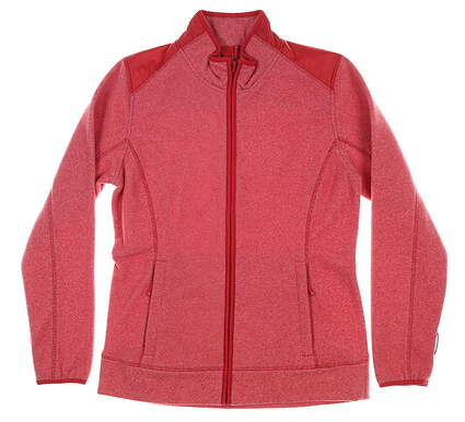 New Womens Cutter & Buck Cedar Park Full-Zip Jacket Medium M Red MSRP $120 LCO09990